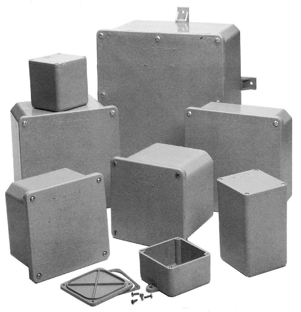 "18""x18""x10"" PVC JUNCTION BOX SCEPTER/KRALOY"