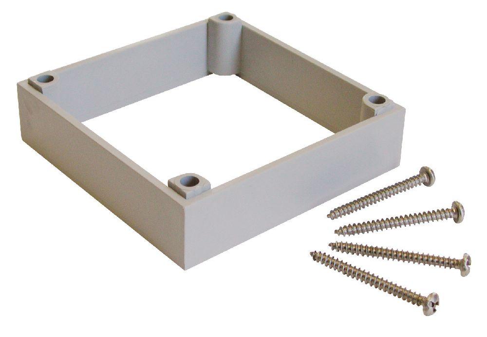 PVC SHALLOW SLAB BOX KWIKON