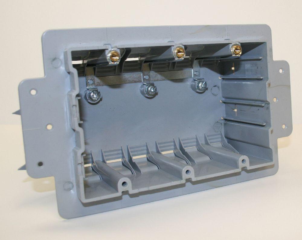 ICF-3-RL PVC TRIPLE GANG ICF BOX CSAus NMD CABLE INEXO
