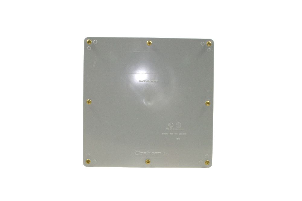 "JB12128 12""x12""x8"" PVC JUNCTION BOX W/ GSKT SCEPTER"