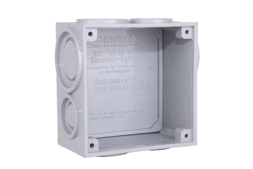 PVC SLAB BOX KWIKON